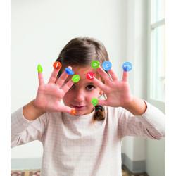 Tampons alphabet box a tamponner ...